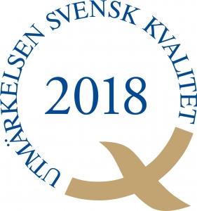 Utmärkelsen Svensk Kvalitet