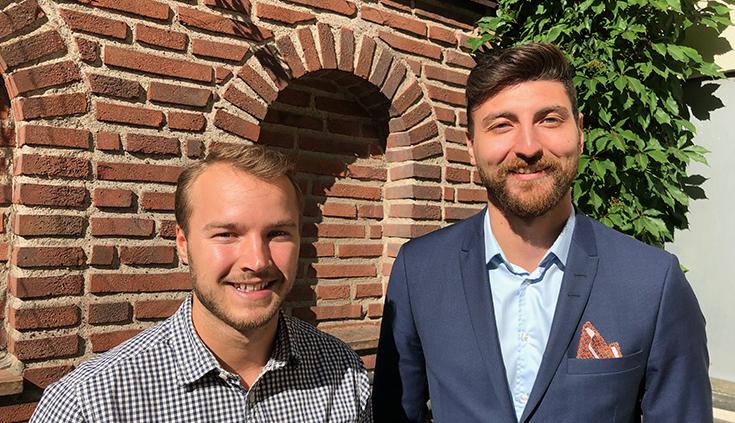 Foto Maksat Allaberdyev och Philip Sjöberg