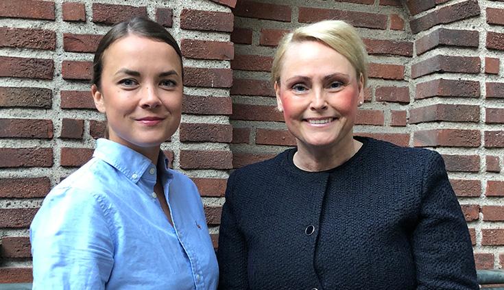 Riikka Kujala och Kristina Averstad Rastner