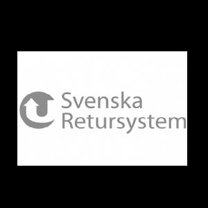 Svenska Retursystem. En av Svenskt kvalitetsindex uppdragsgivare.